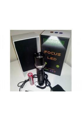 Focus Ledli Zoomlu El Feneri 3W Fc14