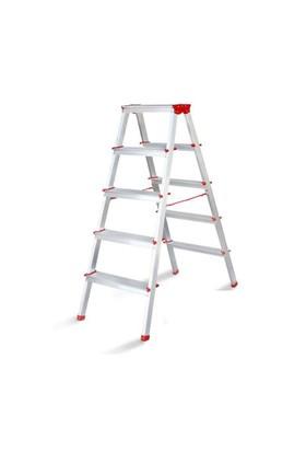 Cömert Alüminyum Çift Çıkışlı 4 Basamaklı Merdiven