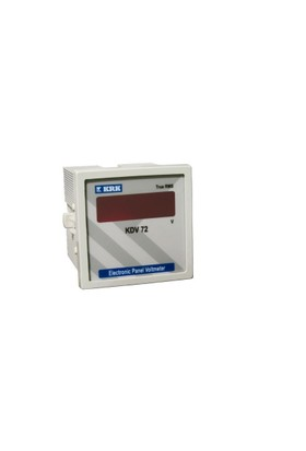 Krk Karaca Dijital Pano Tip Voltmetre 0 ... 500 Vac (Monofaze)
