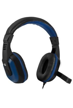 Defender Warhead G-190 Kulaküstü Oyuncu Kulaklık Mavi - Siyah