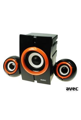 Avec Av1072 Müzik Çalar 2.1 Ses Sistemi Hoparlör