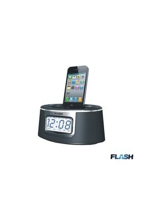 Flash Fds-400 Iphone/Ipod Speaker+Fm Radio+Dijital Saat+Alarm