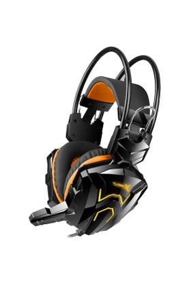 Turbox G02 Siyah Renk Mikrofonlu Oyuncu Kulaklık