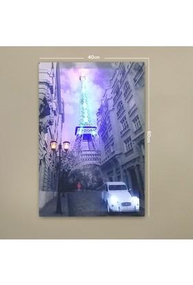 Deco Eyfel Kulesi Led Işıklı Tablo