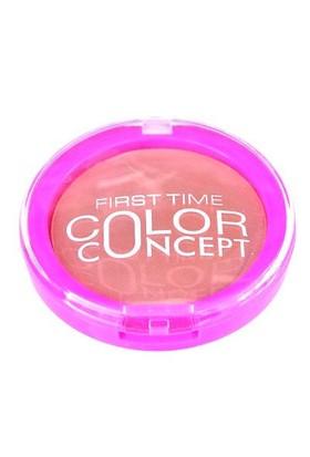 Fırst Tıme Color Concept Blusher 01 Doğal Kahve