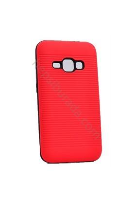 Case 4U Samsung Galaxy J1 (2016) You Korumalı Kapak Koyu Pembe