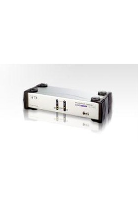 2 Port Usb Dual View Kvmp™ Switch (2 Port Usb Dual Kvm Support One Pc With Two Display)