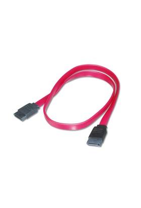 Sata Bağlantı Kablosu, Sata 7Pin Dişi - Sata 7Pin Dişi, Zırhsız, Awg26, 0.50 Metre