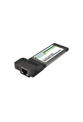 Digitus 10/100/1000 Mbps Gigabit Pcmcıa Express Ethernet Kartı, Form Factor 34, Vıa Vt6130 Chipset'Li