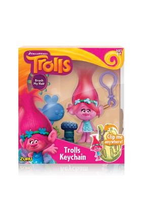 Trolls Figür Anahtarlık / 10 cm