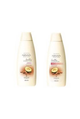 Avon Naturals Badem & Avokado Özü İçeren Şampuan + Saç Kremi