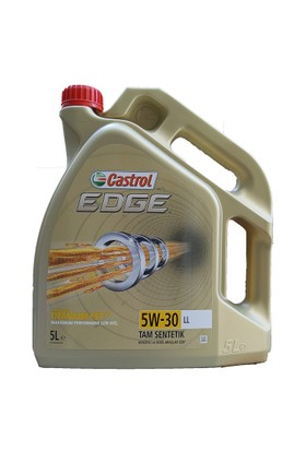 Castrol Edge 5W-30 LL 5Litre Motor Yağ