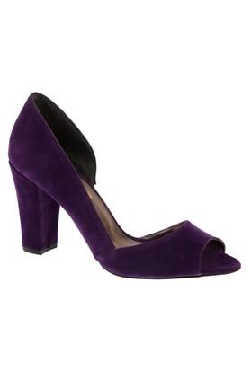 Shalin Szr Anna Mor Süet Kadın Topuklu Ayakkabı