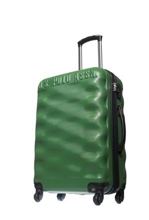 U.S. Polo Assn. Kadın Orta Boy Valiz Plvlz6032 Yeşil M(64*40*24)