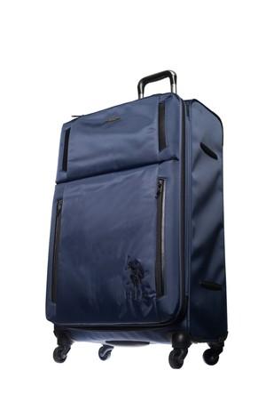 U.S.Polo Assn Kumaş Büyük Boy Valiz Plvlz6004 Lacivert L(78*46*31)