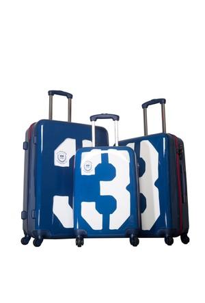 U.S.Polo Assn Polycarbonate Set Valiz Mc0034 Lacivert L(75*47*28)M(65*43*25)S(55*36*21)