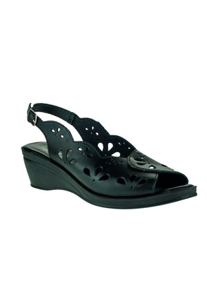 Muya 157 22128Z Siyah Sandalet