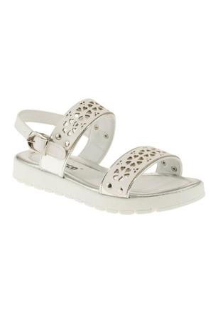 Vicco 921U659 Cift Bantli Gümüş Çocuk Sandalet