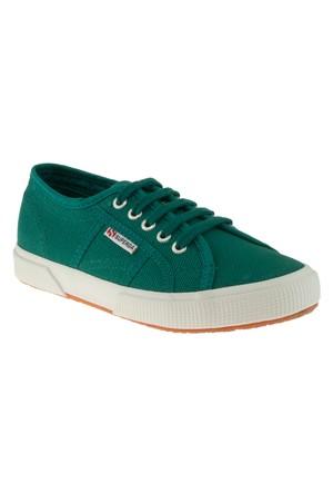 Superga 2750 Cotu Classic Yeşil Çocuk Spor Ayakkabı
