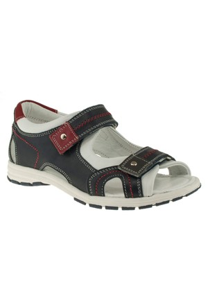 Toddler 3554 Cansucan Çift Cırt Lacivert Erkek Çocuk Sandalet