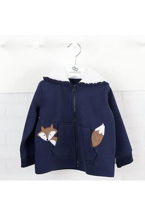Wonder Kids WK14W2227 Erkek Bebek Kapşonlu Ceket
