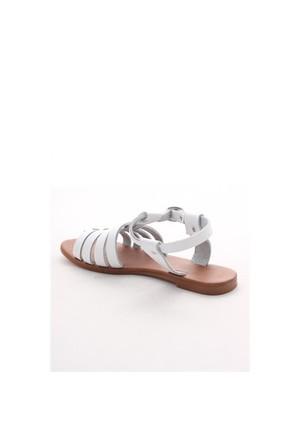 Gio&Mi Beyaz Sandalet V26