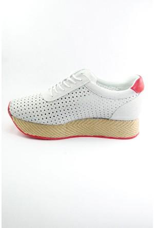 Sofistiqe Bej Süet Sneaker
