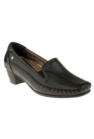 Forelli 230 33405-1Z Siyah Ayakkabı