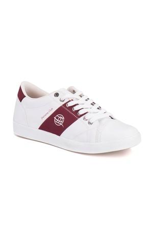 Panama Club Haly M 1612 Beyaz Bordo Erkek Sneaker