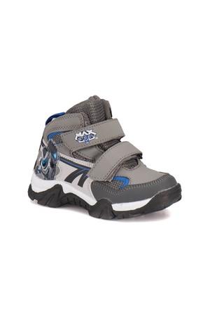 Max Steel A3311262 Koyu Gri Erkek Çocuk Sneaker Ayakkabı