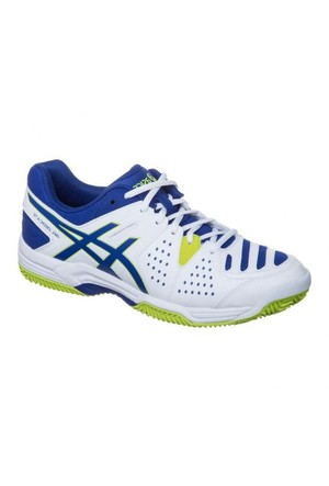 Asics Gel Dedicate 4 Clay white asics blue Tenis Ayakkabısı