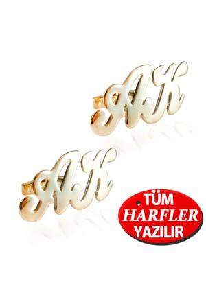 Gümüş Altın Kap. isim-isminize özel isimli kol düğmesi ar42sr