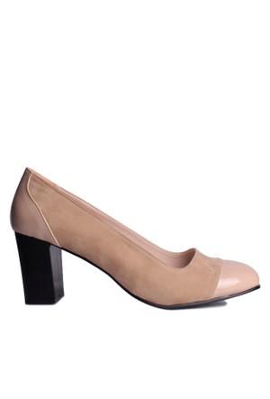 Loggalin 375500 031 325 Kadın Bej Günlük Ayakkabı
