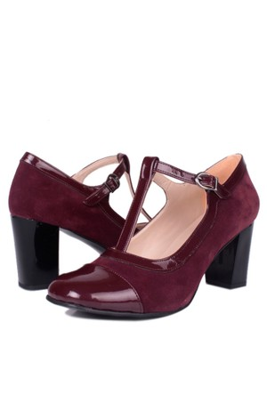 Loggalin 375502 031 621 Kadın Bordo Günlük Ayakkabı