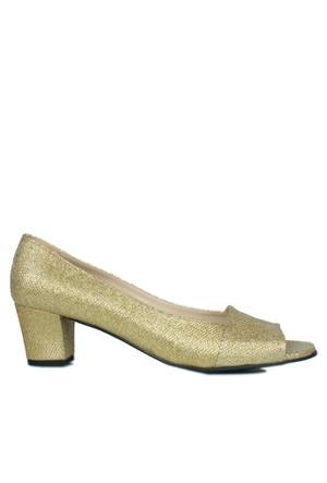 Loggalin 375025 031 720 Kadın Altın Günlük Ayakkabı
