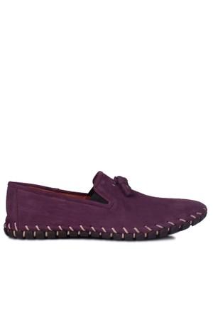 Erkan Kaban 350101 045 825 Erkek Eflatun Havlu Nubuk Yazlık Ayakkabı
