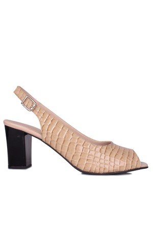 Loggalin 375102 031 354 Kadın Bej Günlük Ayakkabı