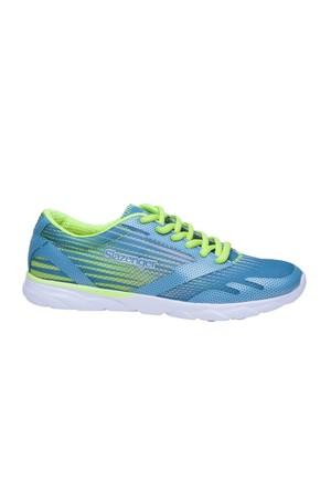 Slazenger Abesa Koşu Kadın Ayakkabı Mavi