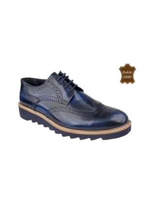 Wolfland 201 K 107 Hakiki Deri Klasik Ayakkabı