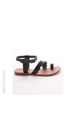 Gio&Mi Siyah Sandalet Hs-16