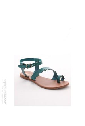 Gio&Mi Yeşil Sandalet Hs-16