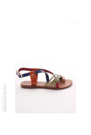 Gio&Mi Renkli Sandalet Hs-05
