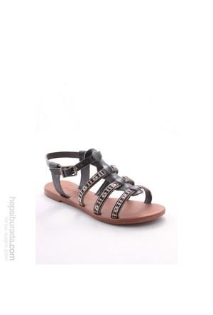 Gio&Mi Siyah Sandalet Hs-21