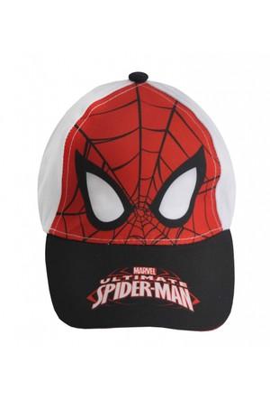 Örümcek Adam Şapka - Kırmızı/Beyaz