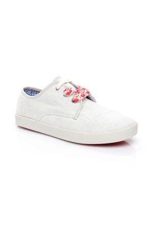 Toms Linen Wm Paso Sneak 10007898.White Ayakkabı