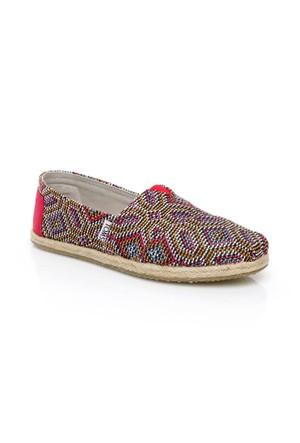 Toms Multi Woven Wm Alpr Esp 10008024.Pink Ayakkabı
