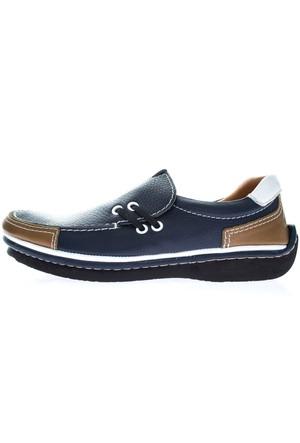 Dexter Erkek Mavi Deri Ayakkabı (P210-72)