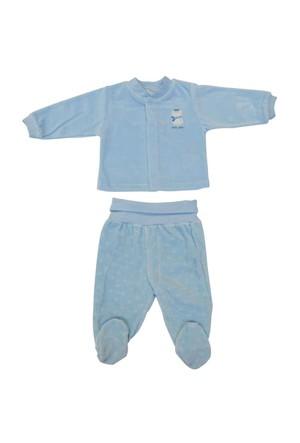 Bebetto T861 Little Friend Kadife Bebek Mini Pijama Takımı