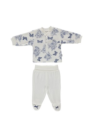 Bebetto F867 Zambak Kadife Mini Bebek Pijama Takımı