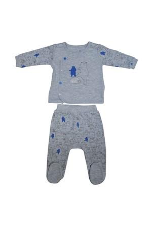 Caramell TKE2719 Kutup Ayılı 2 li Bebek Takım